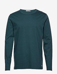 ABALONE - basic t-shirts - army petrol