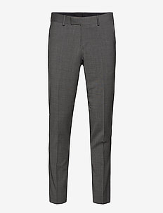 TORDON - puvunhousut - light grey melange