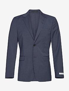 JARL ULA - blazers met enkele rij knopen - vintage indigo