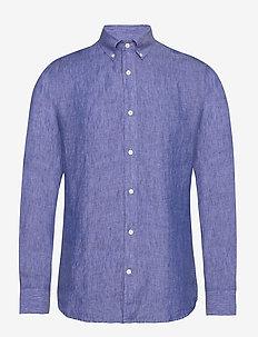 FENALD - basic-hemden - dust blue