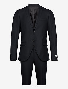 S.JULES - single breasted suits - scarab green