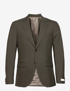 JAMONTE - single breasted blazers - olive extreme