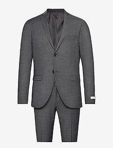 S.JULES - enkelknäppta kostymer - dark grey mel