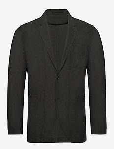 SHELLAND G - single breasted blazers - dusty military