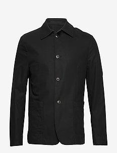 JOHNNIE - enkeltkneppede blazere - black