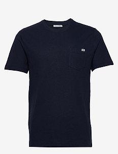 DIDELOT L - basis-t-skjorter - navy blazer