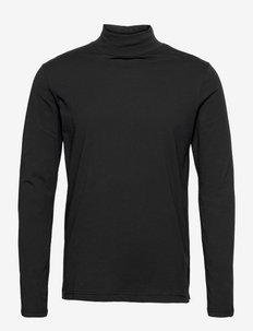 JAMISON - t-shirts à manches longues - black