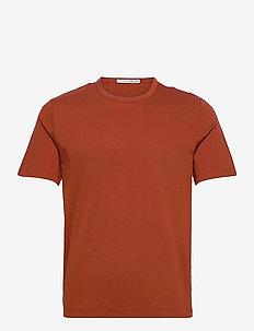OLAF - basic t-shirts - rust red