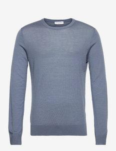 NICHOLS - tricots basiques - mist blue