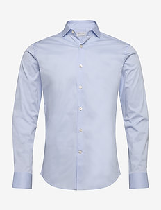 FARRELL 5 - basic shirts - pale blue