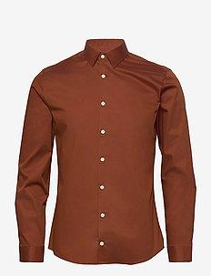 FILBRODIE - basic skjorter - rust red