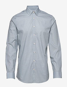 FERENE - business shirts - silver blue