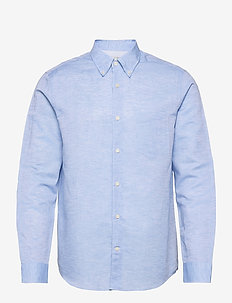 SANKT - oxford-hemden - silver blue