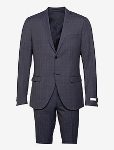 S.JULES - single breasted suits - steel grey