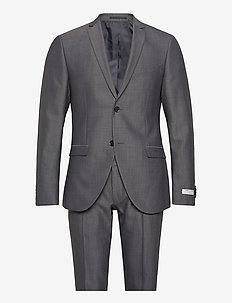 S.JULES - single breasted suits - shady blue