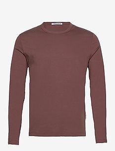 OLAF LS - basis-t-skjorter - rosala
