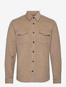 ARNOU - avslappede skjorter - sand dune
