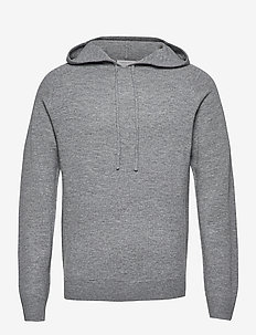NAKKNE - basic-sweatshirts - med grey mel