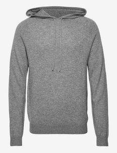 NAKKNE - hoodies - med grey mel
