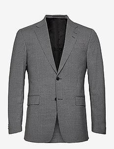 GRAMOTT - single breasted blazers - med grey mel