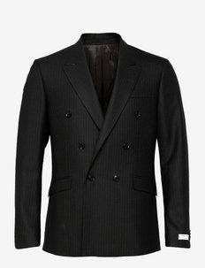 HELDIN - blazers à boutonnage simple - dark grey mel