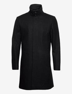 ALERIC - wełniane płaszcze - black