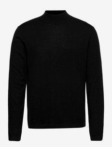 TERN - basic gebreide truien - black