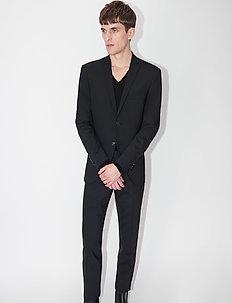JIL 9 BZ - enkeltkneppede blazere - black