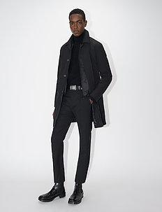 CRANDALL - trenchcoats - black