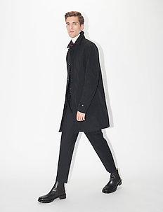 BRYGGE - tynnere frakker - black
