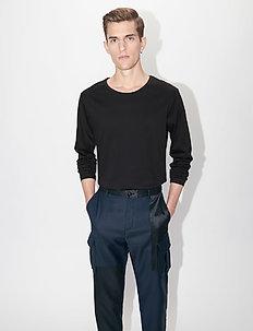 ABALONE - basis-t-skjorter - black