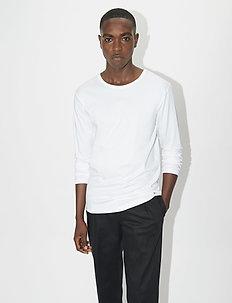 ABALONE - basis-t-skjorter - pure white
