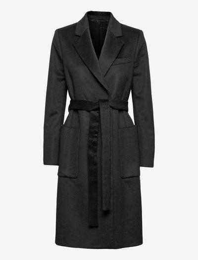RIMINI - wool coats - black