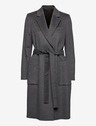 RIMINI - wool coats - med grey mel