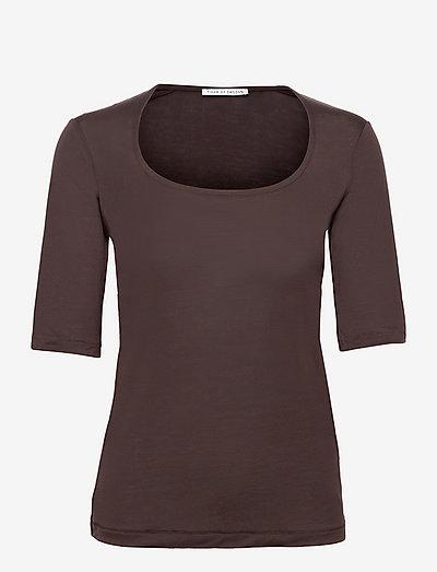 PAOLINA - t-shirt & tops - burgundy