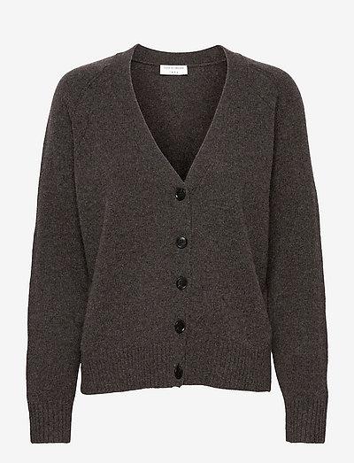 EKAT - cardigans - dark grey mel