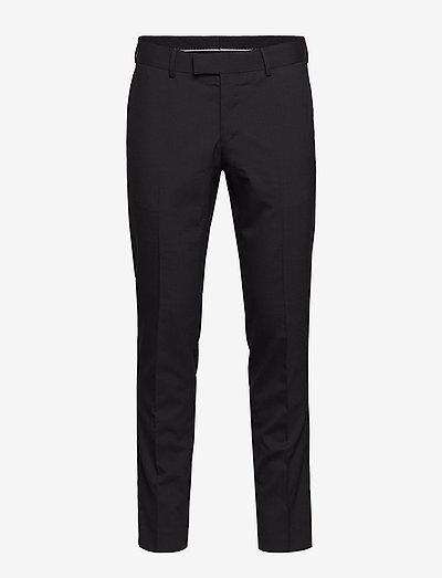 GORDON - pantalons habillés - black