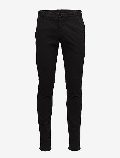TRANSIT4PP - pantalons chino - black