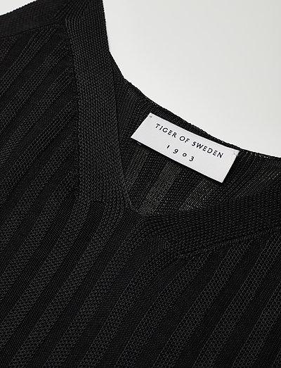 Tiger Of Sweden Spaghetti- T-shirty I Topy Black
