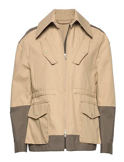 Ewa Outerwear Jackets Utility Jackets Beige TIGER OF SWEDEN