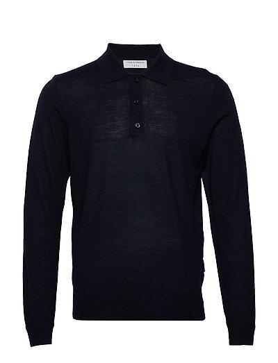 Newton Knitwear Turtlenecks Blau TIGER OF SWEDEN
