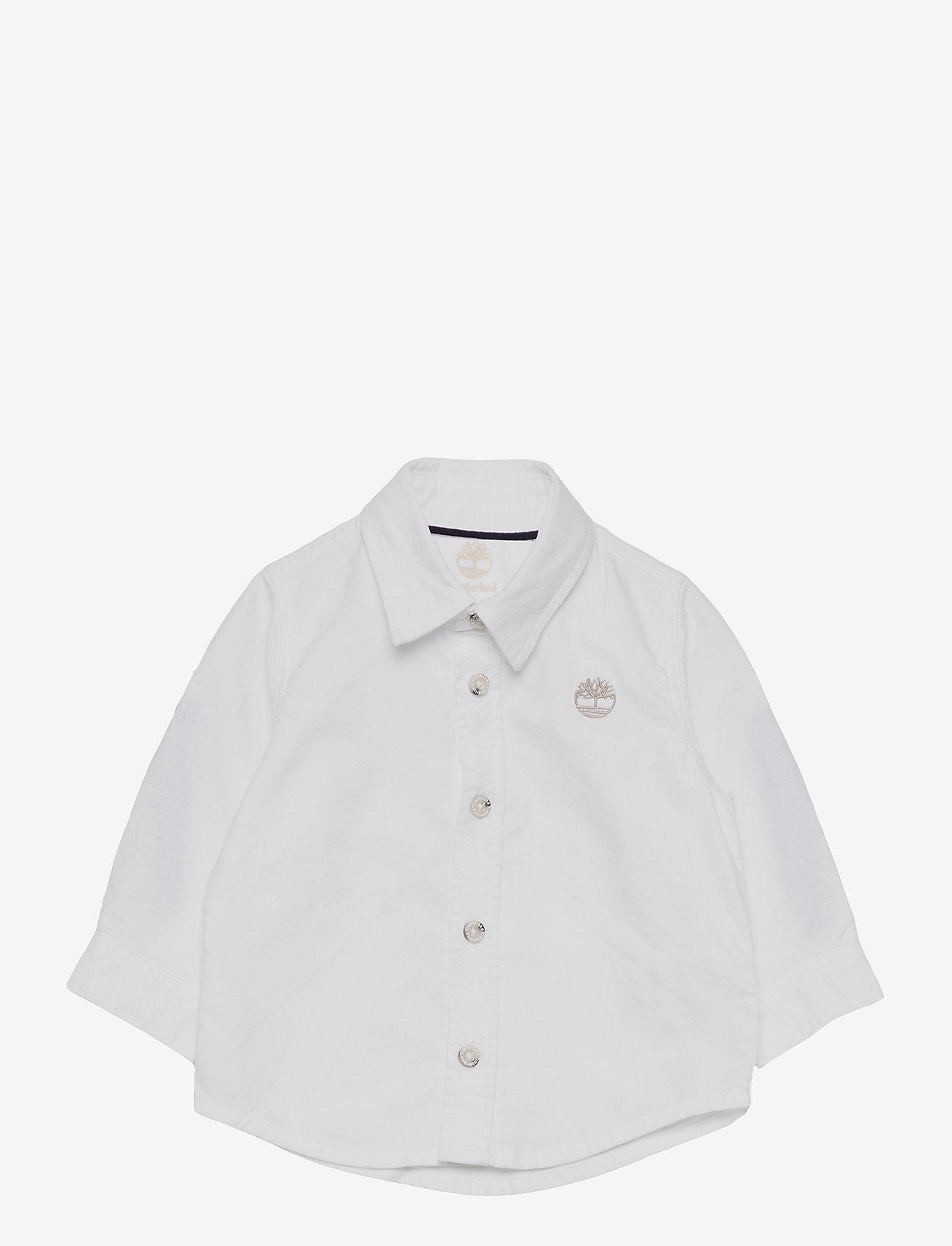 Timberland - LONG SLEEVED SHIRT - shirts - white - 0