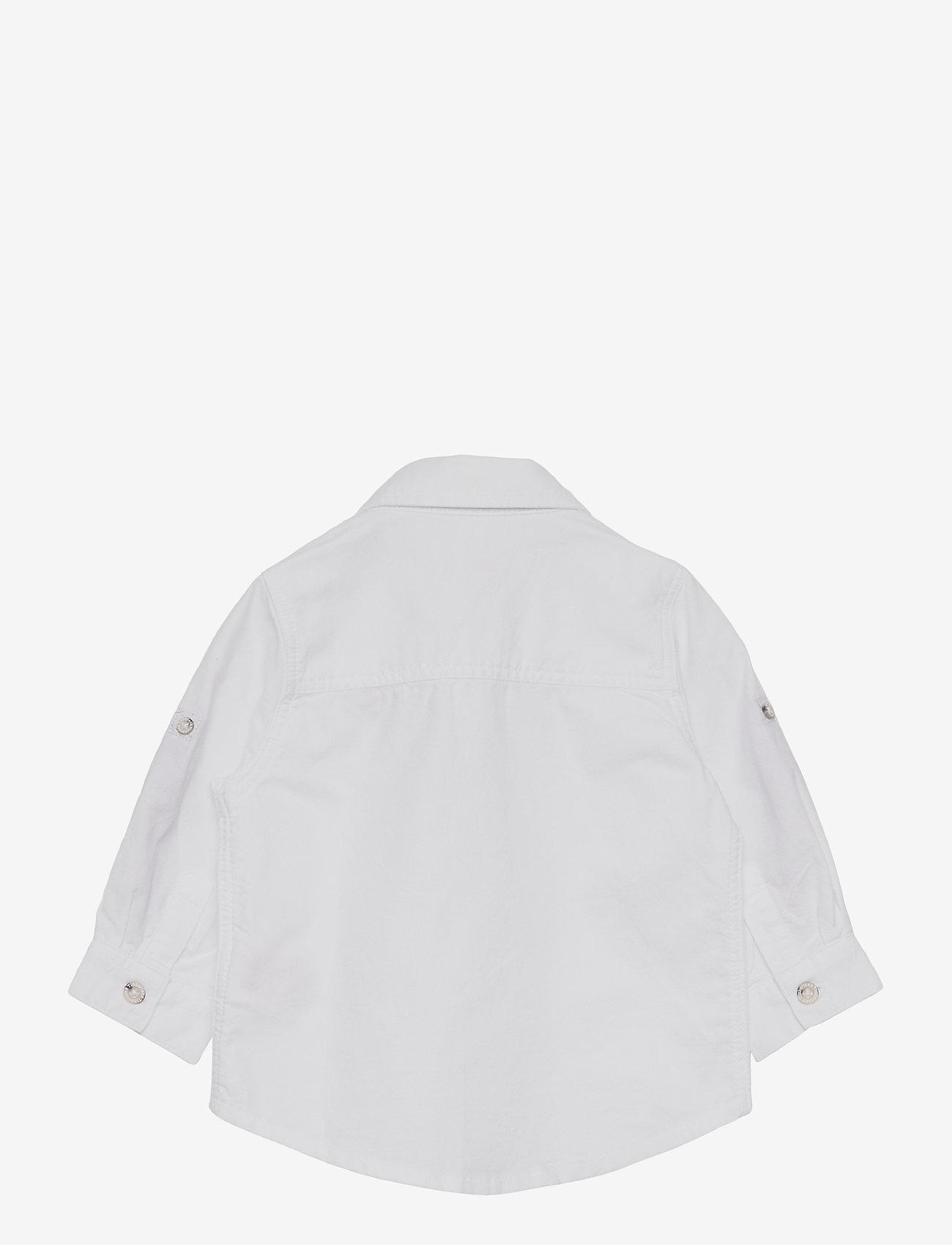 Timberland - LONG SLEEVED SHIRT - shirts - white - 1
