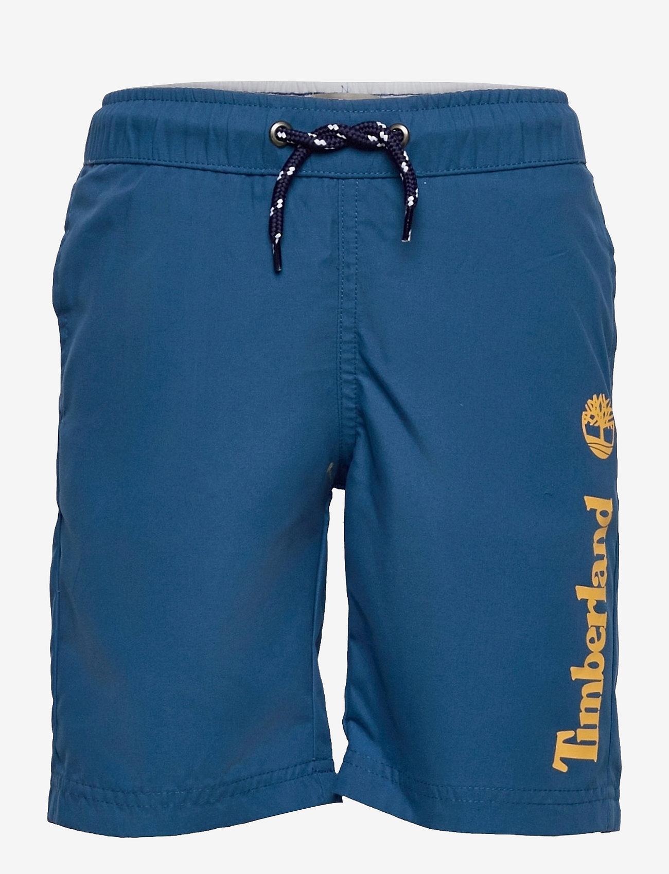 Timberland - SWIM SHORTS - badehosen - blue - 0