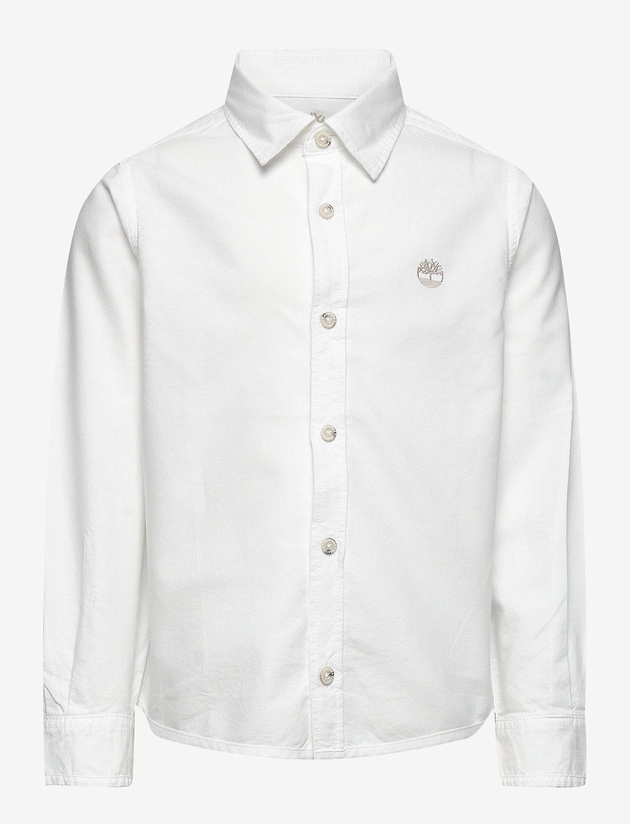Timberland - LONG SLEEVED SHIRT - overhemden - white - 0