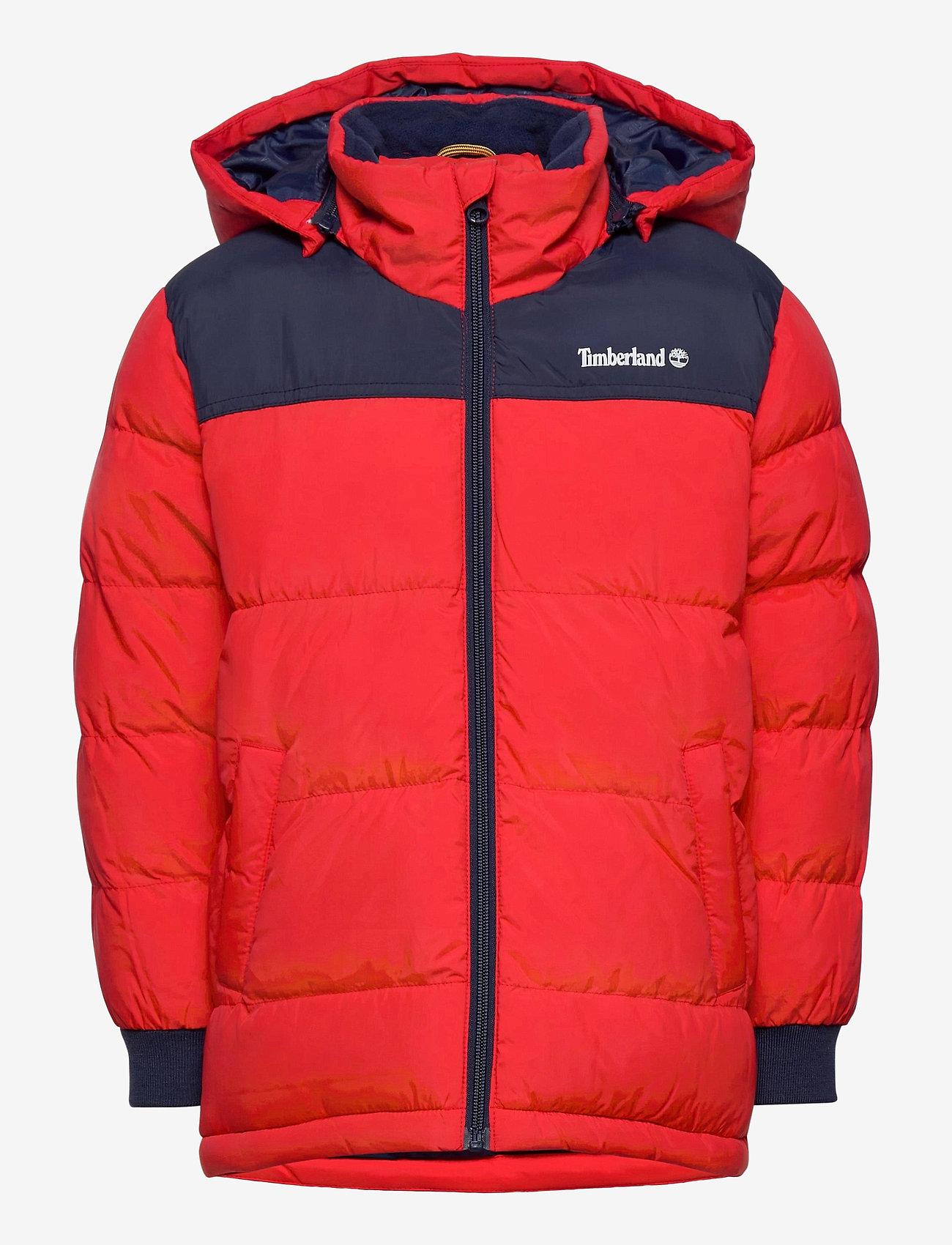 Timberland - PUFFER JACKET - dunjakker & forede jakker - bright red - 0