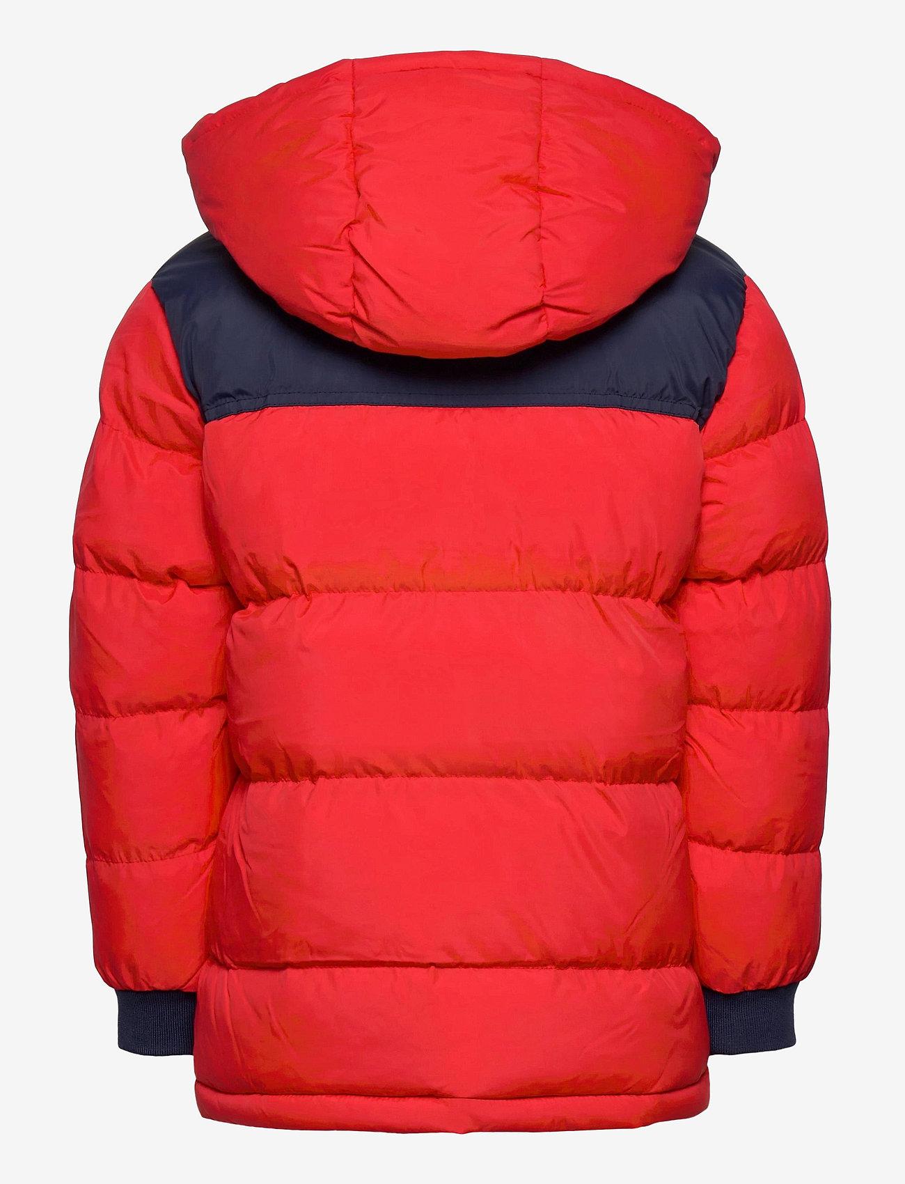 Timberland - PUFFER JACKET - dunjakker & forede jakker - bright red - 1