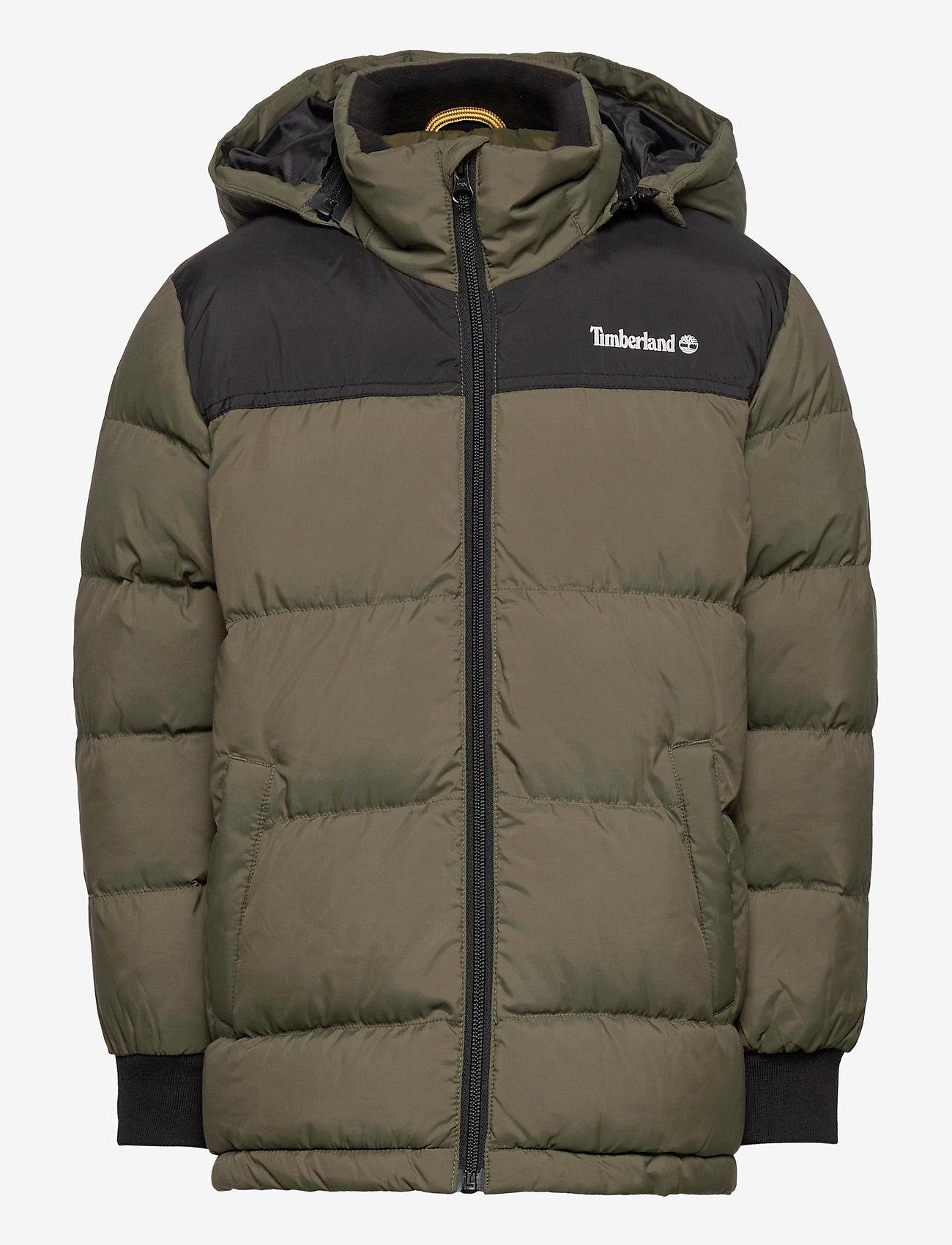 Timberland - PUFFER JACKET - dunjakker & forede jakker - khaki - 0