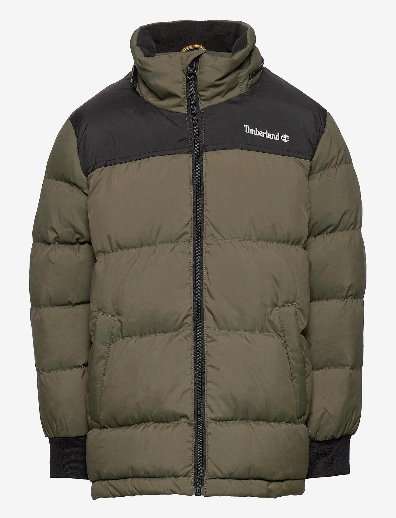 Timberland - PUFFER JACKET - dunjakker & forede jakker - khaki - 1