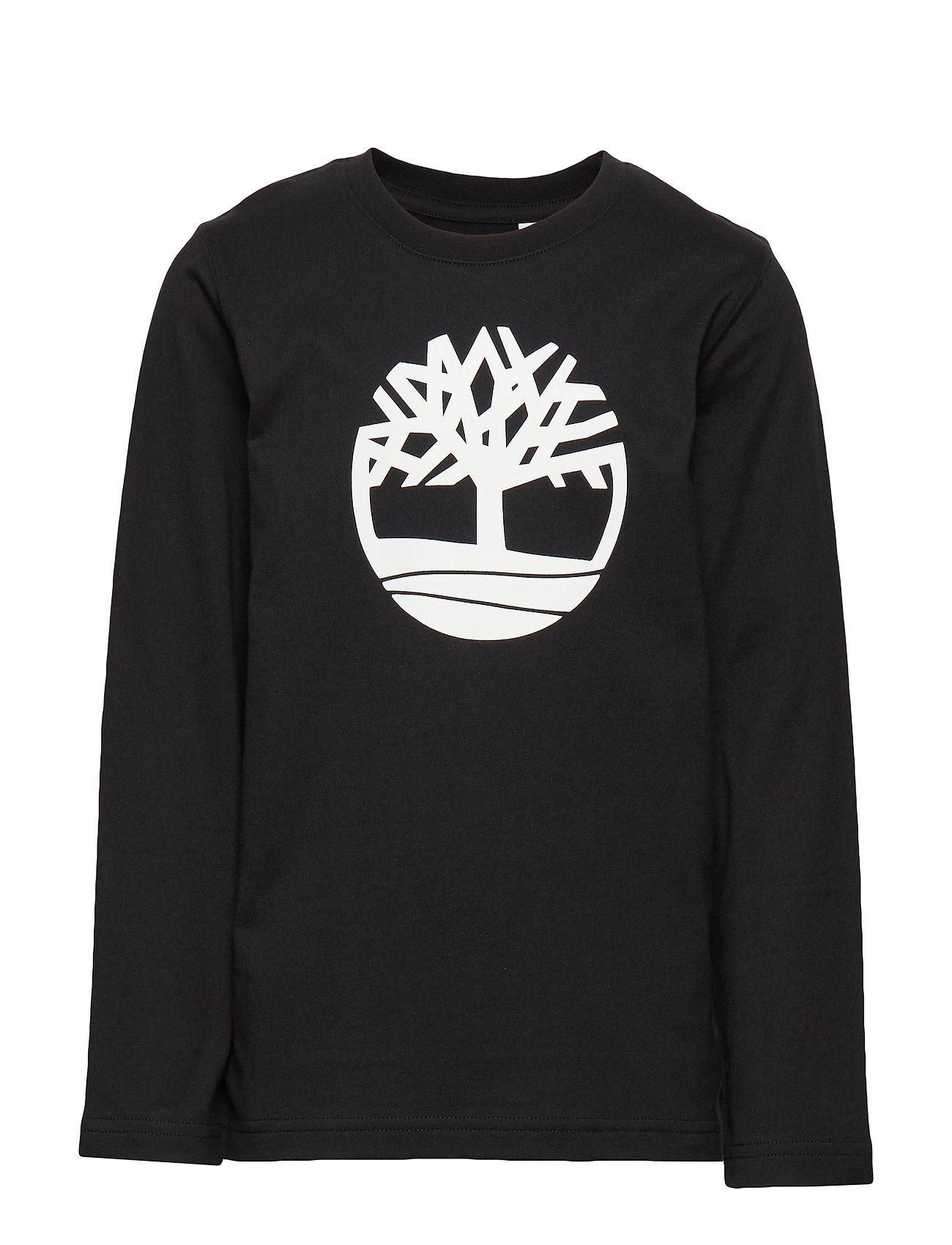 Timberland LONG SLEEVE T-SHIRT - BLACK